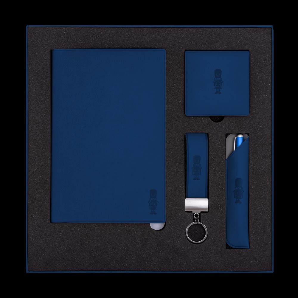 Подарочный набор Plastic Online, цвет темно-синий