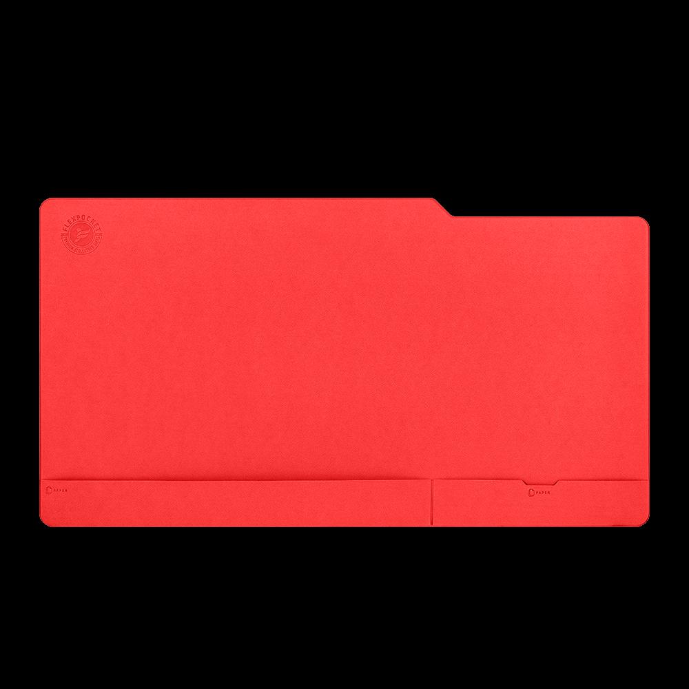 Настольный мат - большой, цвет красный