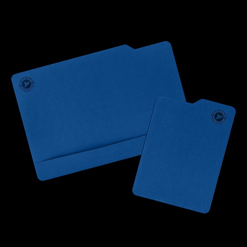 Настольный мат с ковриком для мыши, цвет темно-синий