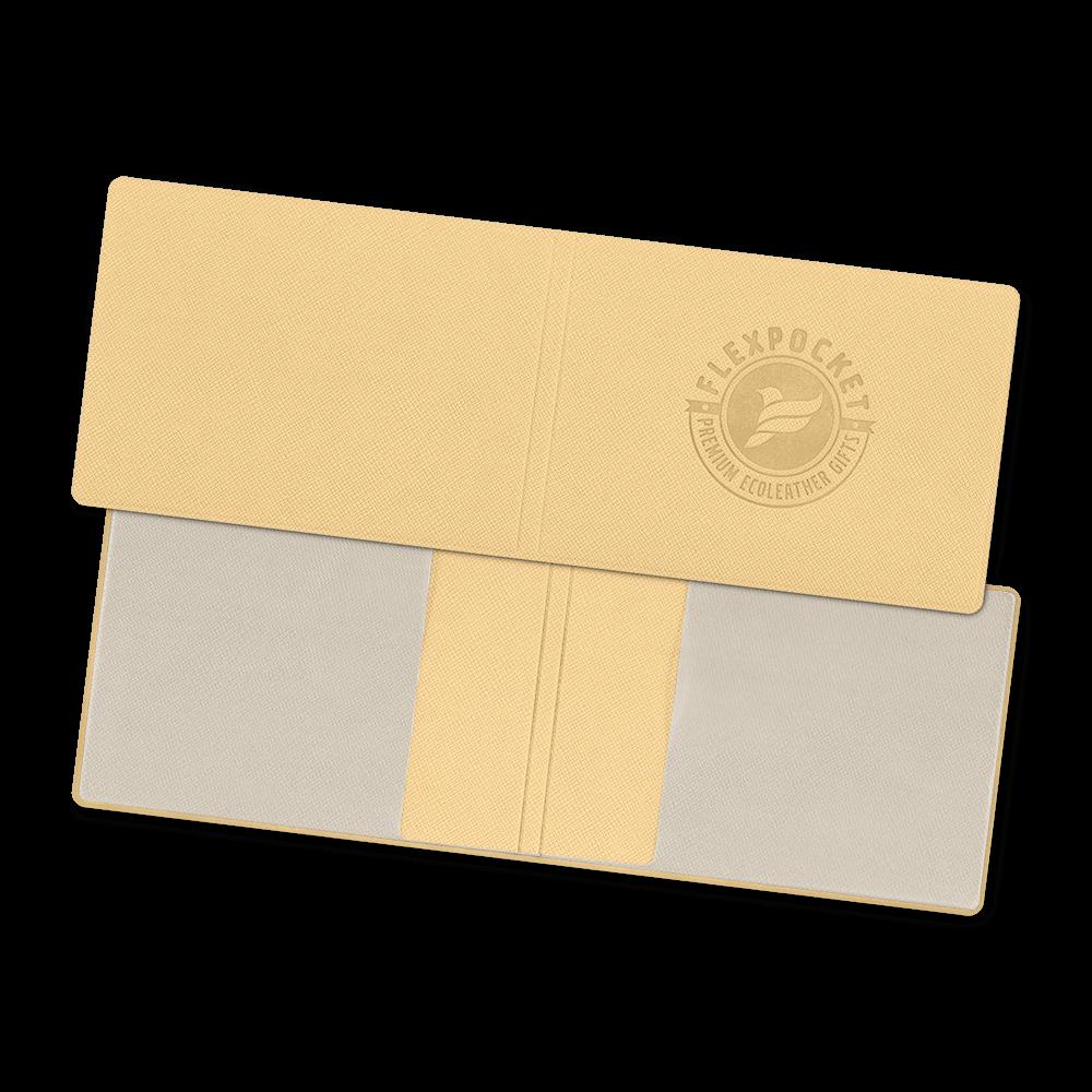 Обложка для удостоверения, цвет бежевый