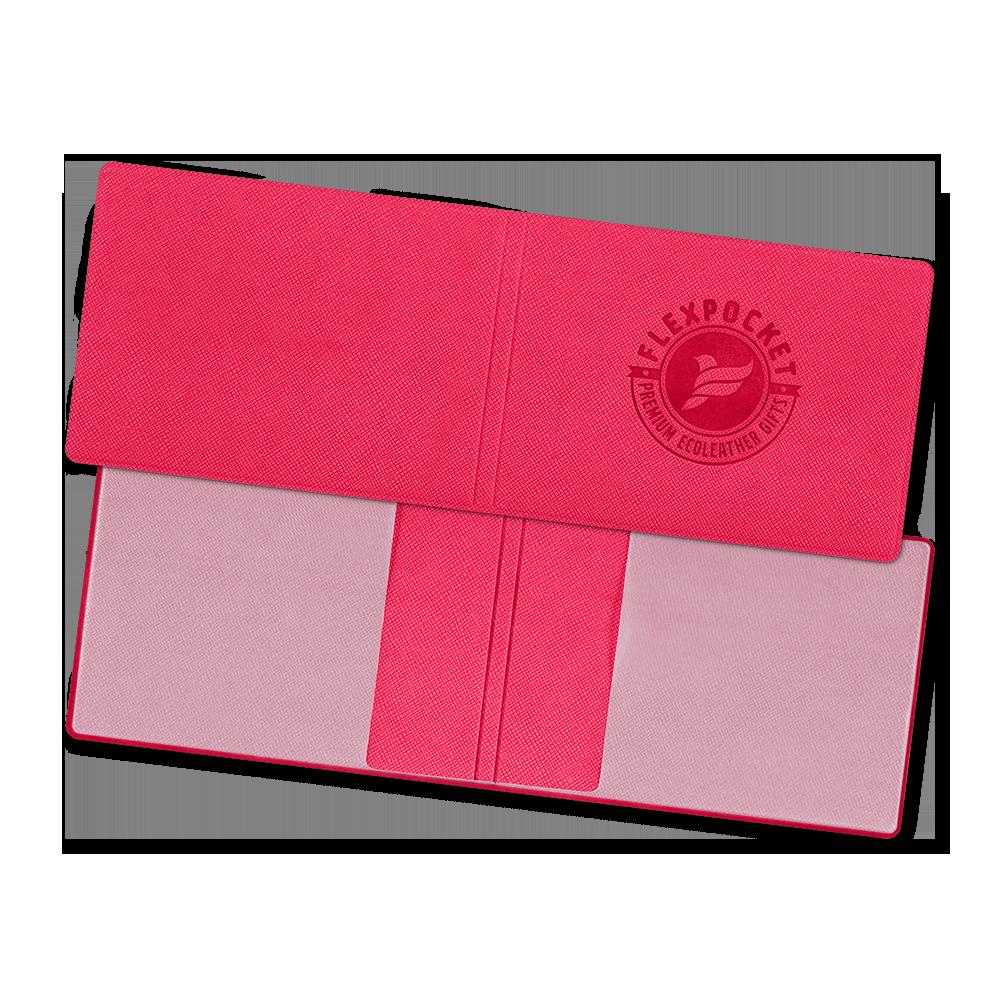 Обложка для удостоверения, цвет маджента