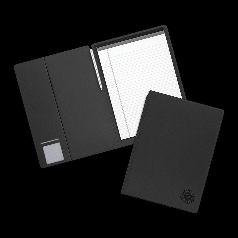 Блокнот-планшет А4 с обложкой, цвет черный