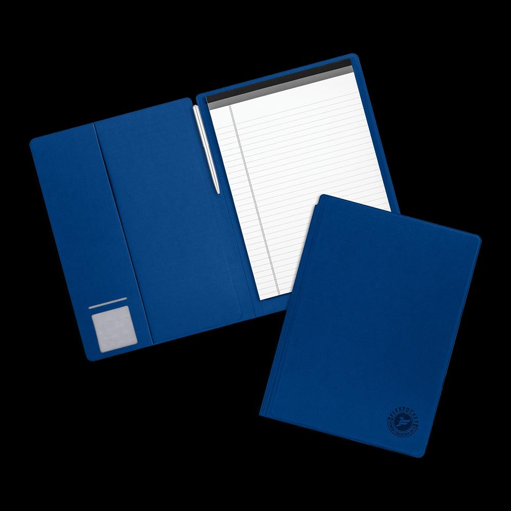 Блокнот-планшет А4 с обложкой, цвет синий