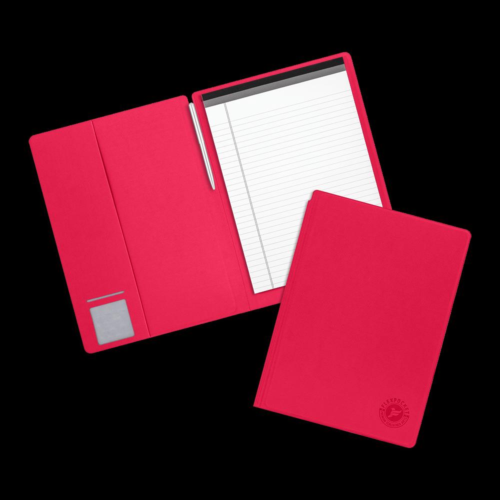 Блокнот-планшет А4 с обложкой, цвет маджента