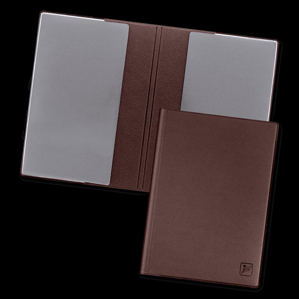 Обложка для паспорта - стандарт, цвет коричневый