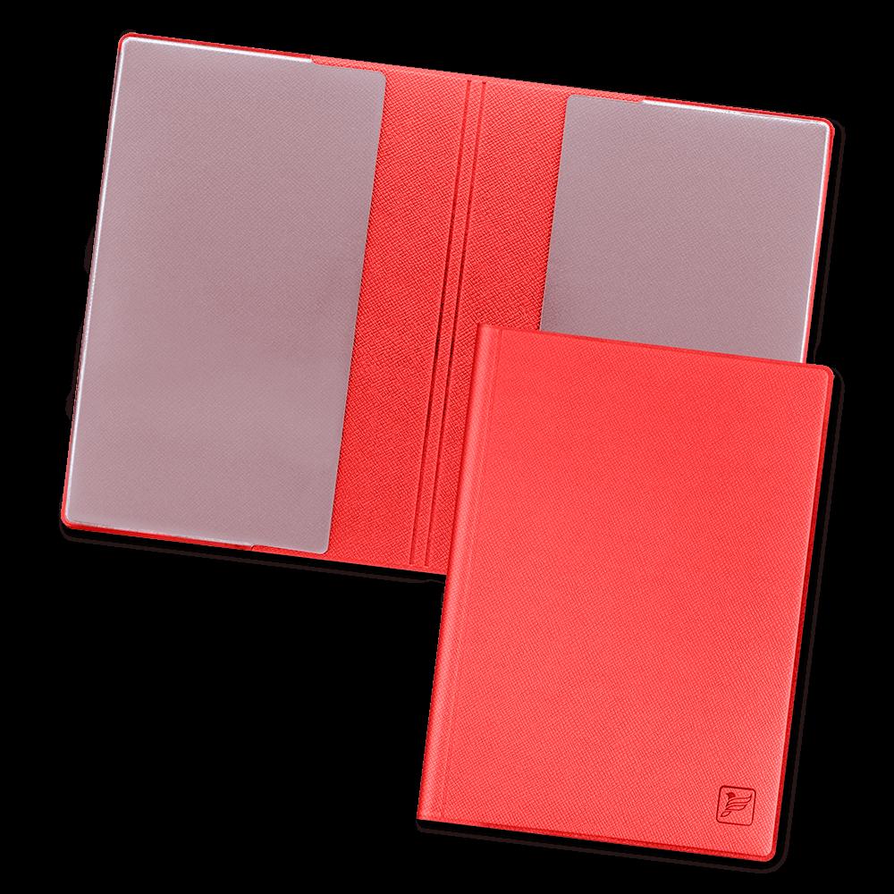 Обложка для паспорта - стандарт, цвет красный