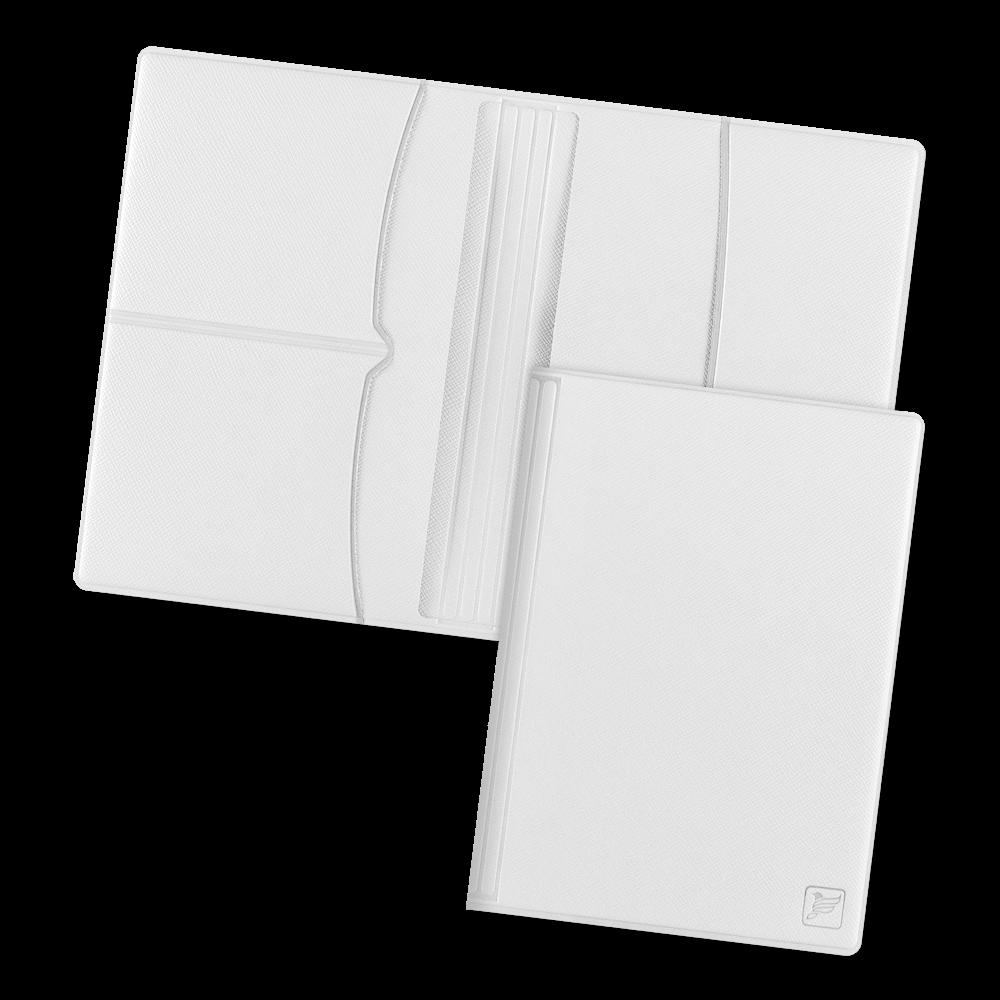 Обложка для паспорта с RFID-блокировкой, цвет белый