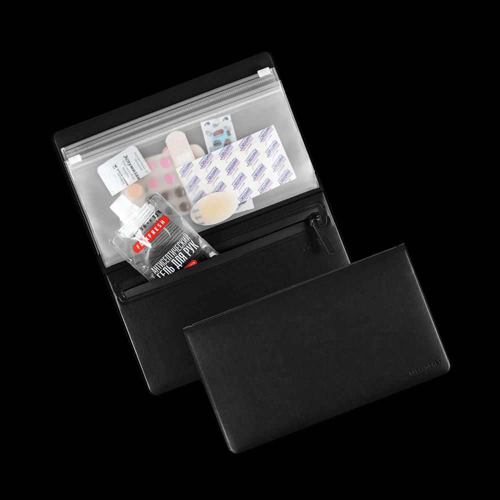 Органайзер - гигиенический набор, цвет черный classic