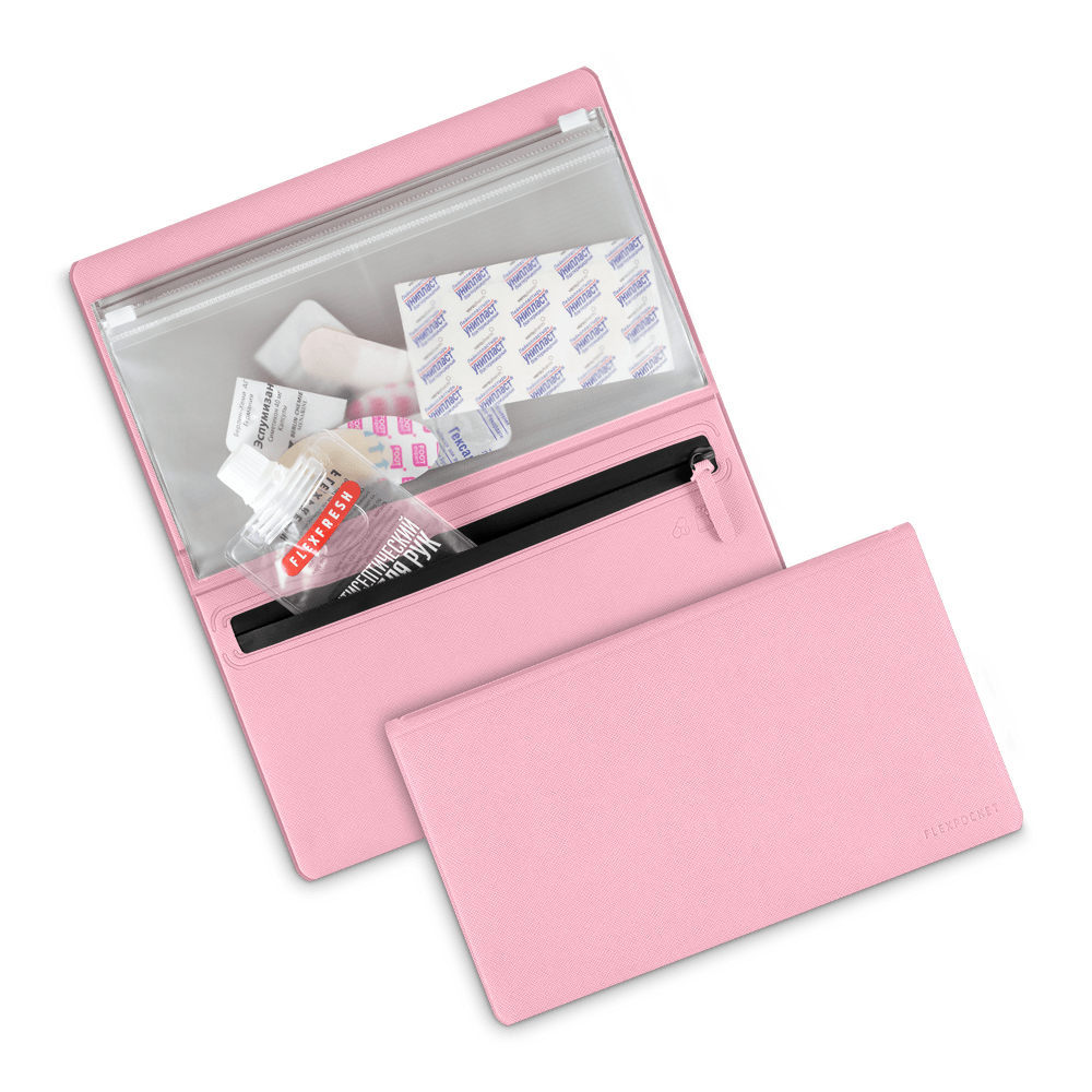 Органайзер - гигиенический набор, цвет розовый