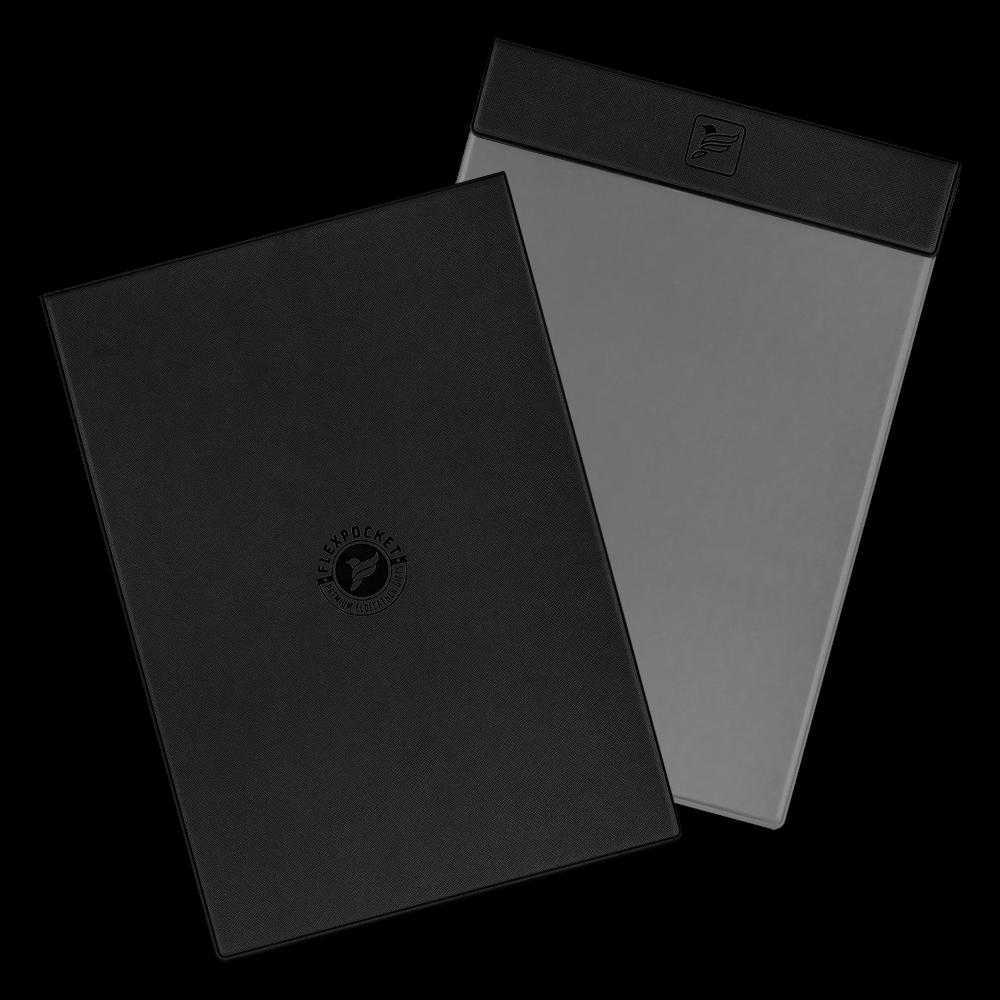 Папка планшет на магнитах, цвет черный