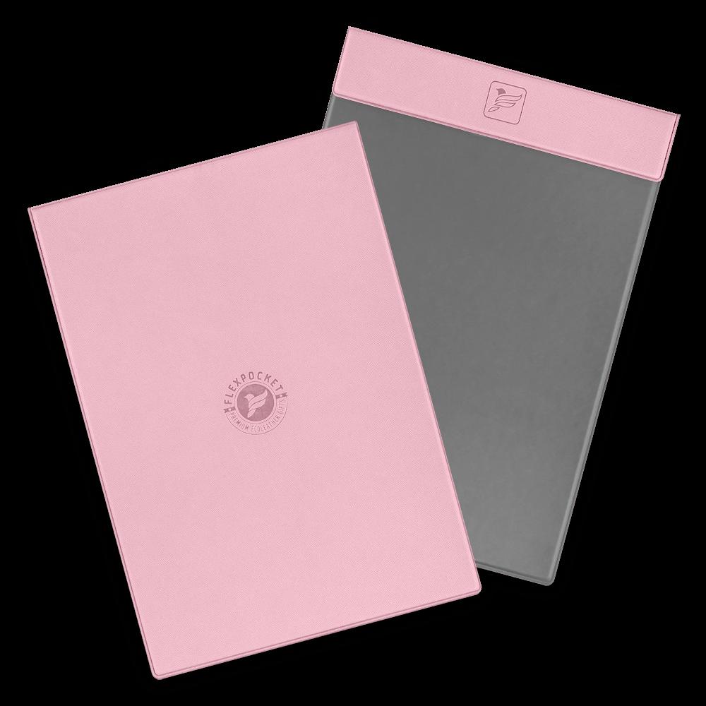 Папка планшет на магнитах, цвет розовый