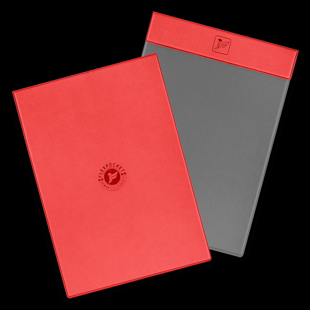 Папка планшет на магнитах, цвет красный