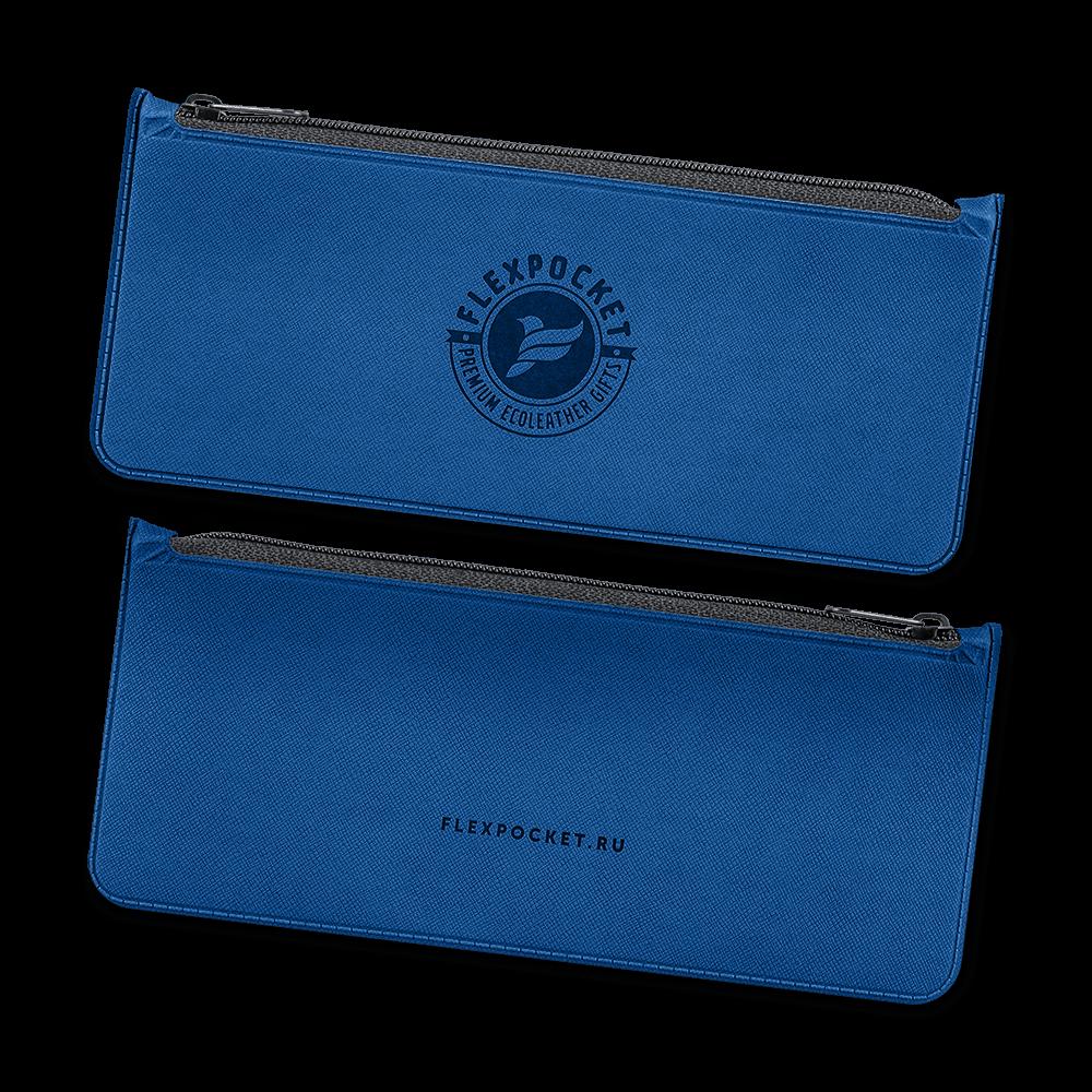 Папка-пенал, цвет темно-синий