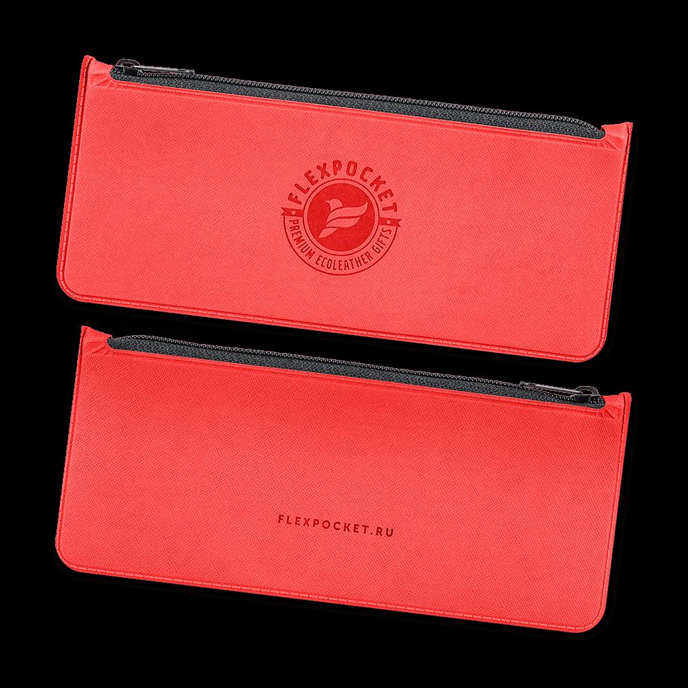 Папка-пенал, цвет красный