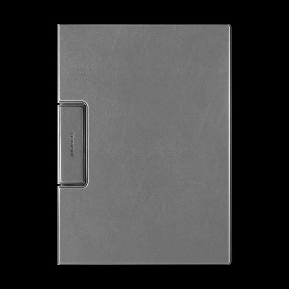 Папка-планшет с магнитным держателем, цвет серый classic