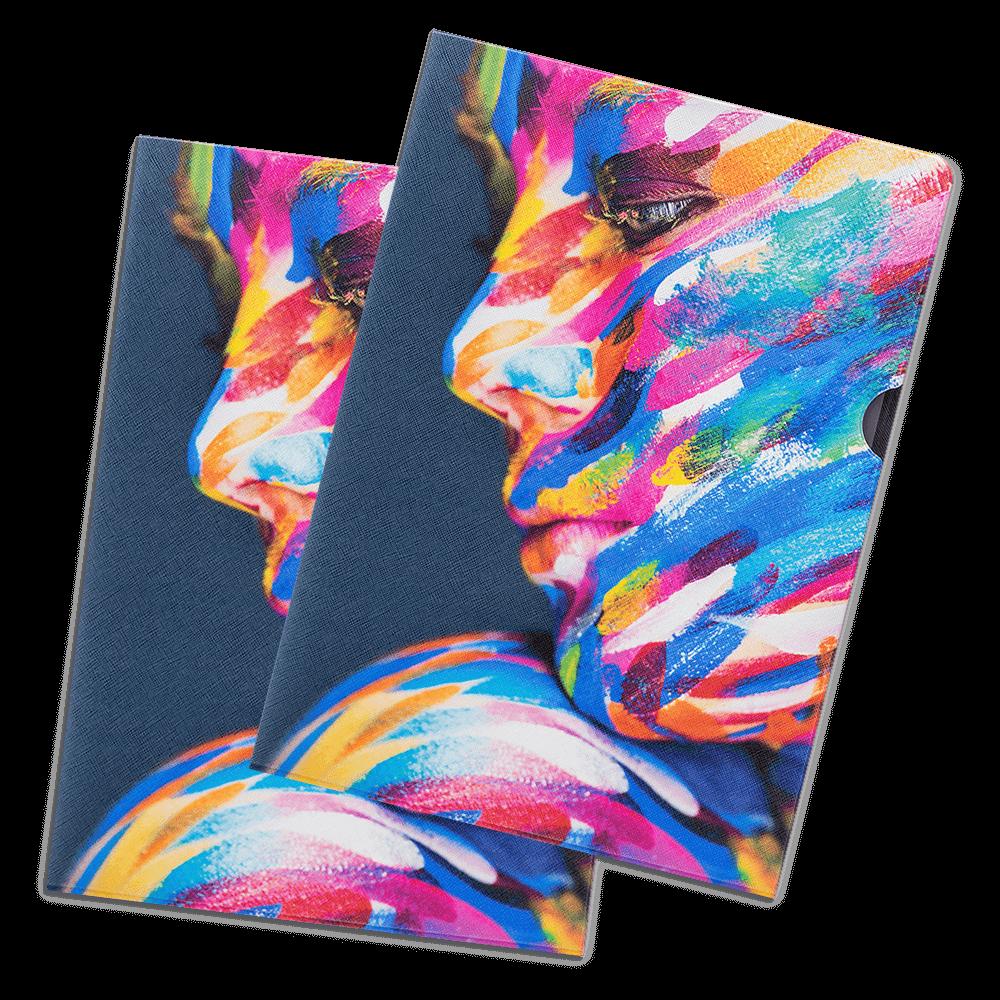Папка-уголок, полноцветная печать