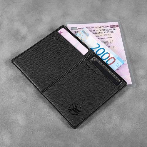 Автодокументница компакт, цвет черный