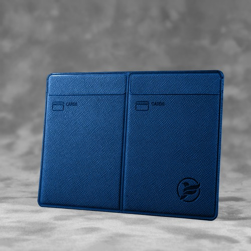 Автодокументница компакт, цвет темно-синий