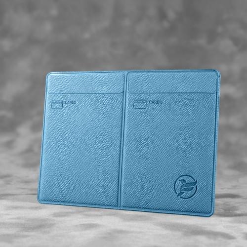 Автодокументница компакт, цвет голубой