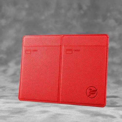 Автодокументница компакт, цвет красный