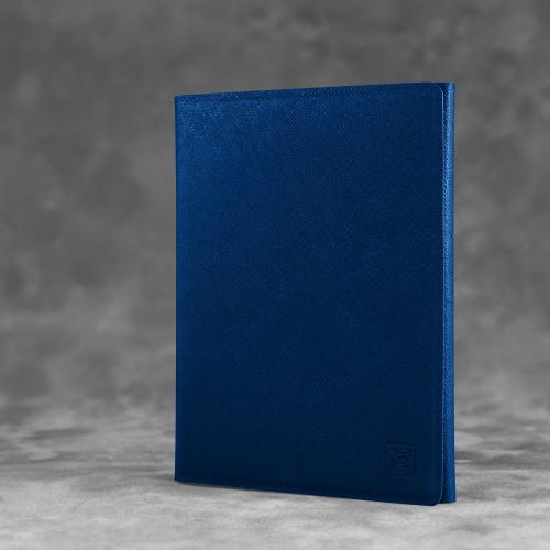 Автодокументница на магнитах, цвет темно-синий