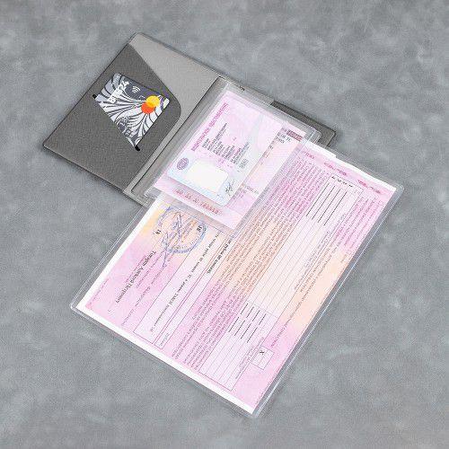 Обложка для автодокументов, полноцветная печать
