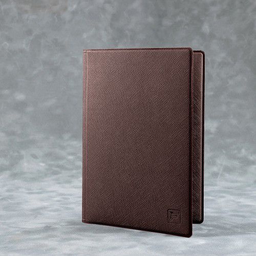 Обложка для автодокументов, цвет коричневый