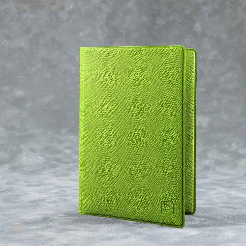 Обложка для автодокументов, цвет зеленый