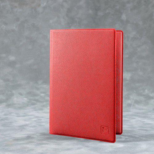 Обложка для автодокументов, цвет красный