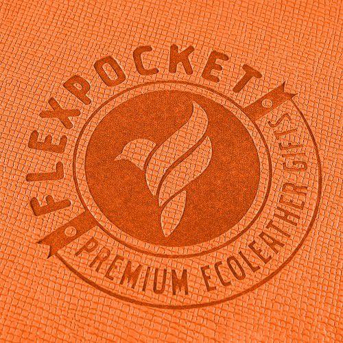 Багажная бирка на резинке, цвет оранжевый