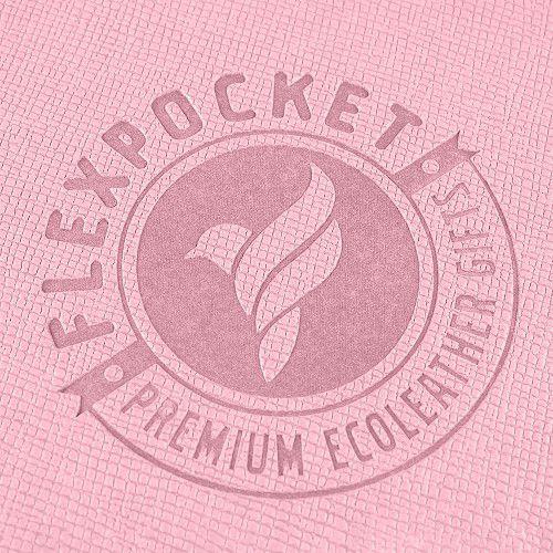 Багажная бирка на резинке, цвет розовый