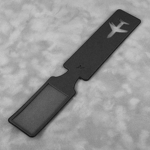 Багажная бирка, цвет черный