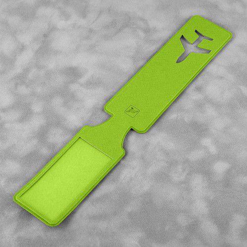 Багажная бирка, цвет зеленый