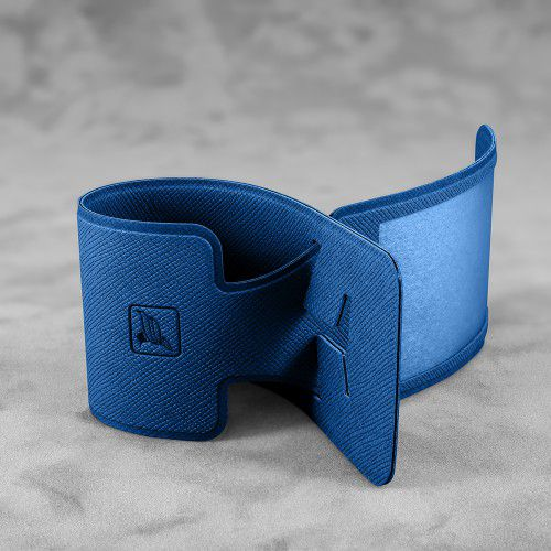 Багажная бирка, цвет темно-синий