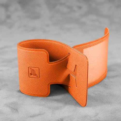 Багажная бирка, цвет оранжевый
