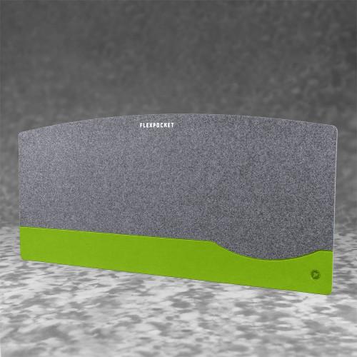 Настольный мат из фетра — большой, цвет зеленый