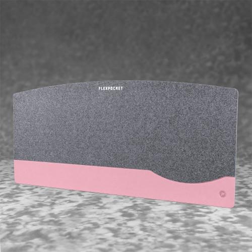 Настольный мат из фетра — большой, цвет розовый
