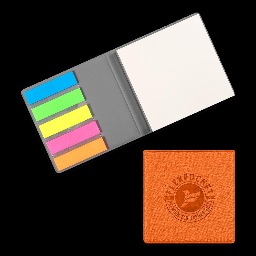 Футляр для стикеров, цвет оранжевый