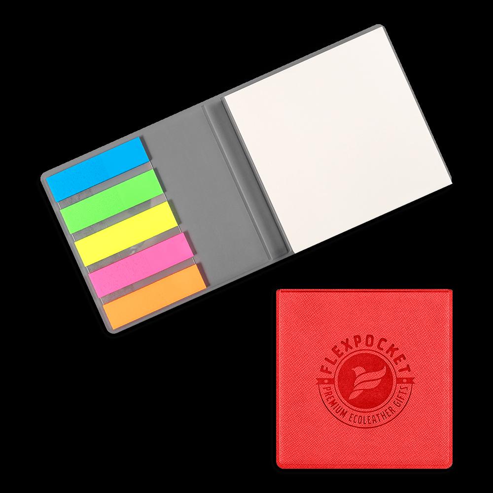 Футляр для стикеров, цвет красный