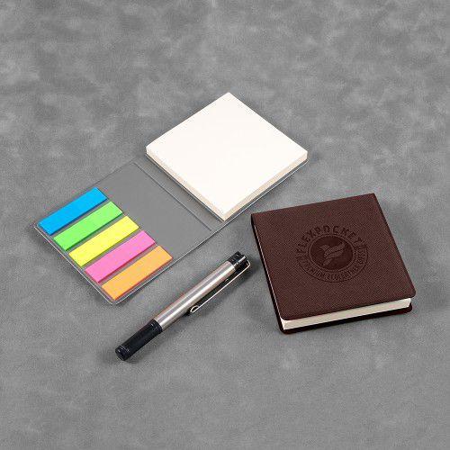 Футляр для стикеров, цвет коричневый