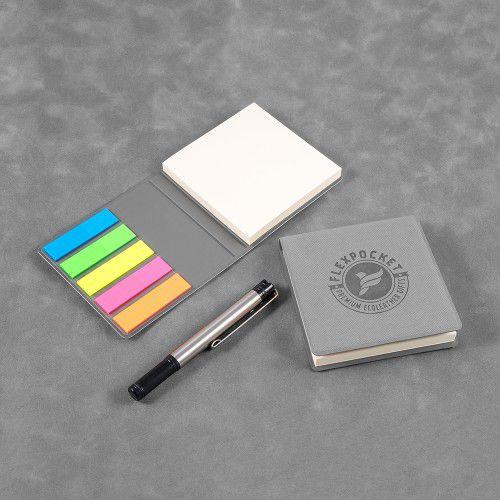 Футляр для стикеров, цвет светло-серый