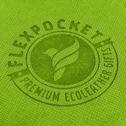 Футляр для стикеров, цвет зеленый