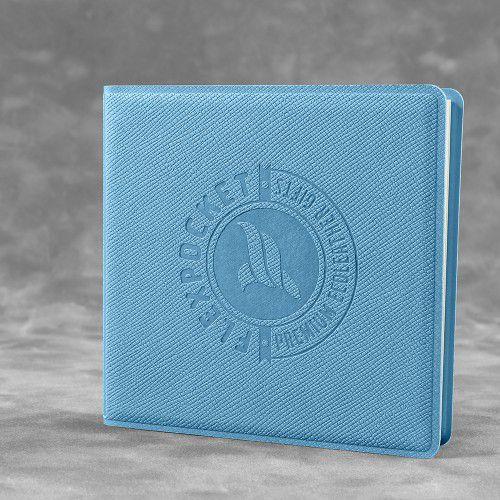 Футляр для стикеров, цвет голубой
