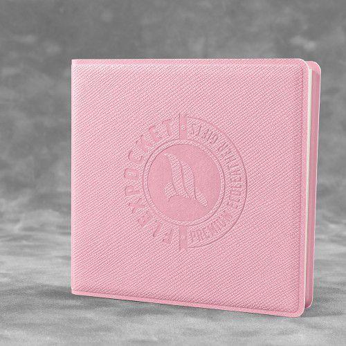 Футляр для стикеров, цвет розовый
