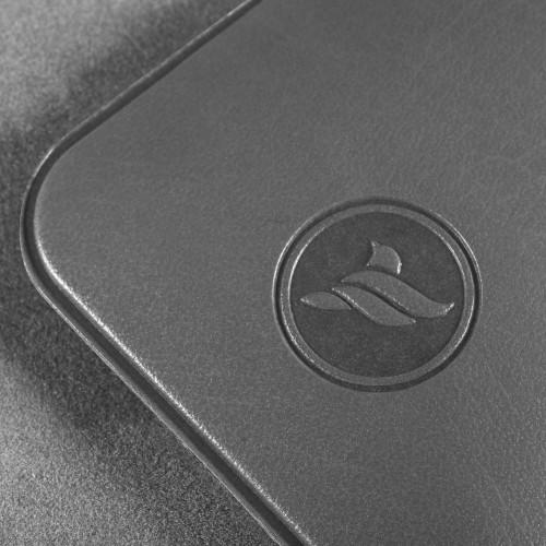 Антисептик-картридж 25мл в чехле из экокожи, цвет серый classic