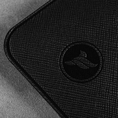 Антисептик-картридж 25мл в чехле из экокожи, цвет черный