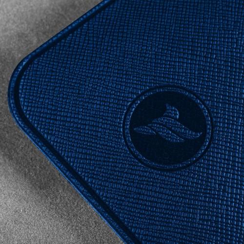 Антисептик-картридж 25мл в чехле из экокожи, цвет темно-синий