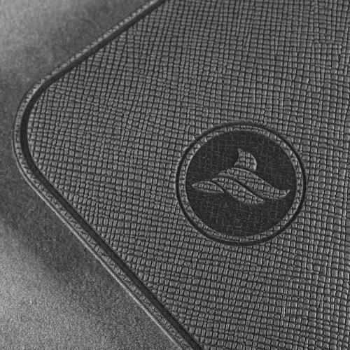Антисептик-картридж 25мл в чехле из экокожи, цвет серый