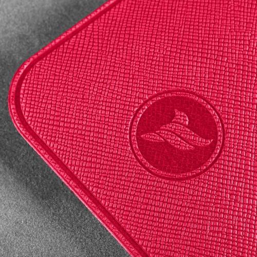 Антисептик-картридж 25мл в чехле из экокожи, цвет маджента