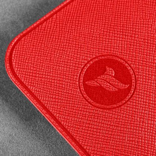 Антисептик-картридж 25мл в чехле из экокожи, цвет красный